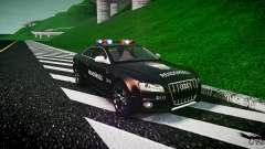 Audi S5 Hungarian Police Car black body
