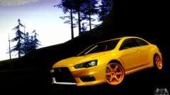 Mitsubishi Lancer Evo X Tuned for GTA San Andreas