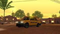 VAZ 2106 tuning Taxi for GTA San Andreas