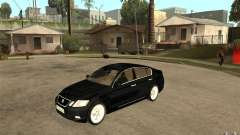 Lexus GS430 2007 for GTA San Andreas