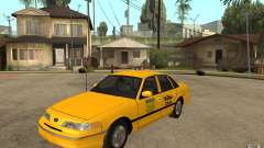 Ford Crown Victoria Taxi 1992 for GTA San Andreas