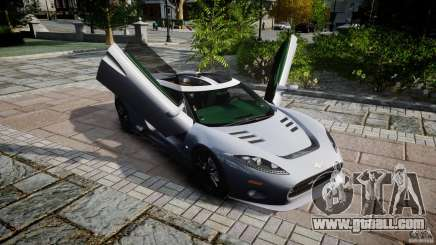 Spyker C8 Aileron v1.0 for GTA 4