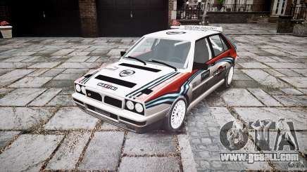 Lancia Delta Integrale Martini 1992 for GTA 4