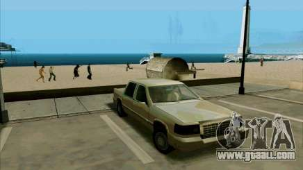 A Short Limousine for GTA San Andreas