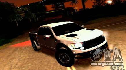 Ford Raptor Crewcab 2012 for GTA San Andreas