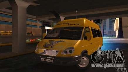 Gazelle 2705 Minibus for GTA San Andreas