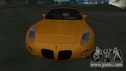 Pontiac Solstice for GTA San Andreas
