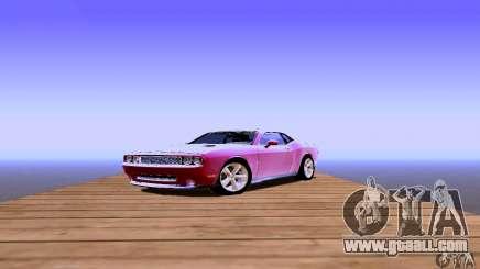 Dodge Challenger SRT8 2009 for GTA San Andreas