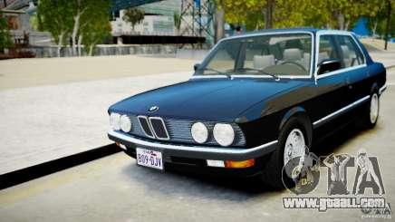 BMW 535 E28 for GTA 4