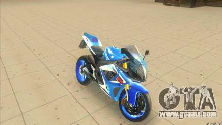 Suzuki 600 GSXR 2006 for GTA San Andreas