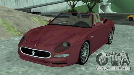 Spyder Cambriocorsa for GTA San Andreas