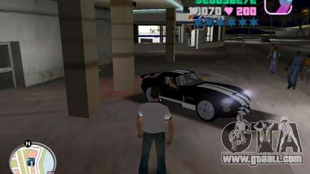 Dodge Viper Hennessy 800 for GTA Vice City