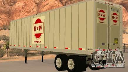 Semi-trailer for GTA San Andreas