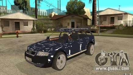 Audi Allroad Quattro for GTA San Andreas