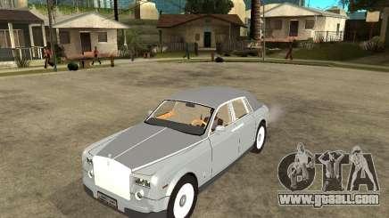Rolls-Royce Phantom (2003) for GTA San Andreas