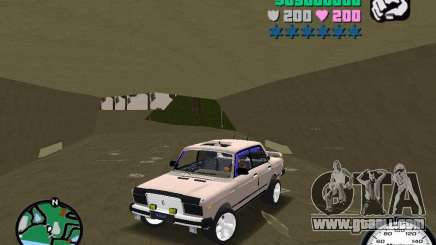 VAZ 2107 for GTA Vice City
