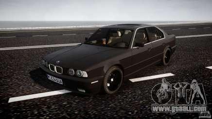 BMW 5 Series E34 540i 1994 v3.0 for GTA 4
