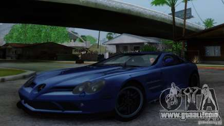 Mercedes-Benz SLR McLaren 722 for GTA San Andreas