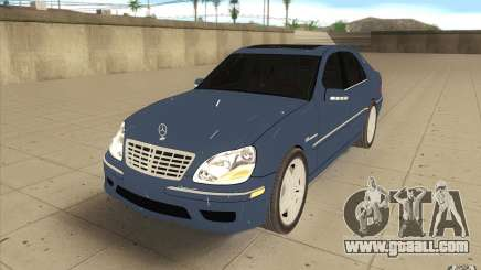 Mercedes-Benz S-Klasse for GTA San Andreas