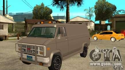 GMC Van 1983 for GTA San Andreas