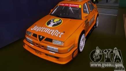 Alfa Romeo 155 v6 DTM Jagermeifter for GTA San Andreas