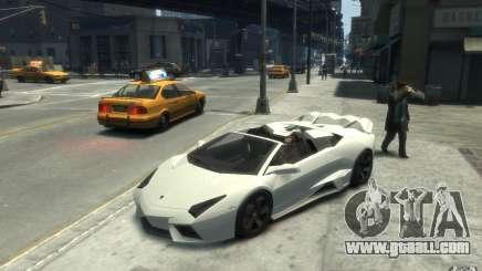 Lamborghini Reventon Roadster REDUX [EPM] for GTA 4
