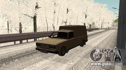 IZH 27175 Winter Edition for GTA San Andreas