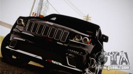 Jeep Grand Cherokee SRT-8 2012 for GTA San Andreas