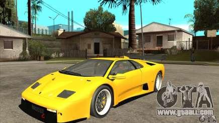Lamborghini Diablo GT-R 1999 for GTA San Andreas