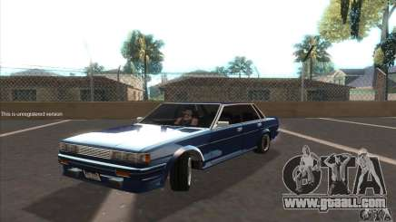 Toyota Cresta GX71 for GTA San Andreas