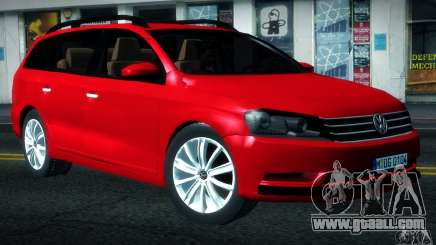 Volkswagen Passat B7 2012 for GTA San Andreas
