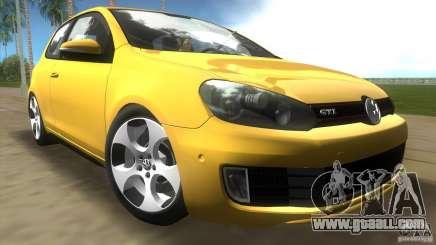 Volkswagen Golf 6 GTI for GTA Vice City