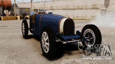 Bugatti Type 51 for GTA 4