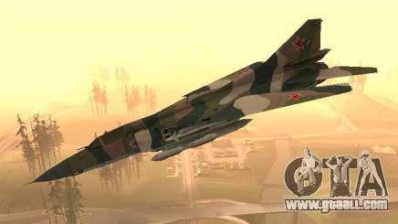 Mikoyan-Gurevich Mig-23 for GTA San Andreas