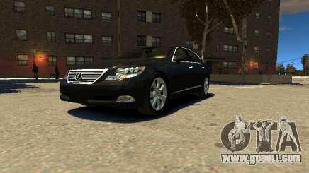 Lexus LS600 V2.0 for GTA 4