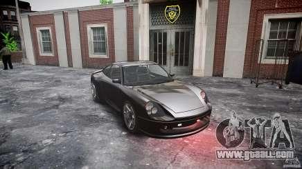 Comet FBI car for GTA 4