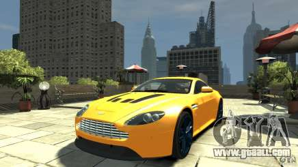 Aston Martin V12 Vantage 2010 for GTA 4