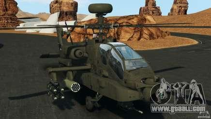 Boeing AH-64 Longbow Apache v1.1 for GTA 4