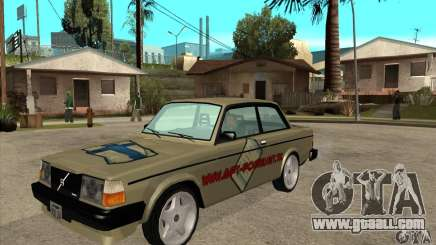 Volvo 240 Turbo for GTA San Andreas