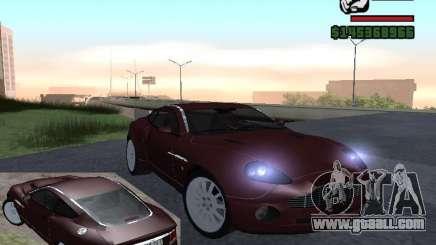 Aston Martin Vanquish for GTA San Andreas