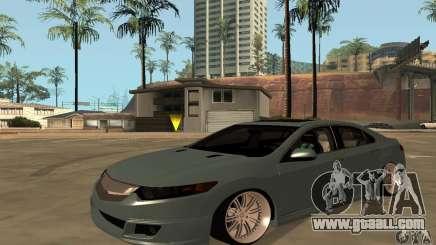 Acura Tsx For GTA San Andreas - Acura tsx mods