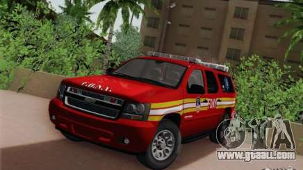 Chevrolet Suburban EMS Supervisor 862 for GTA San Andreas
