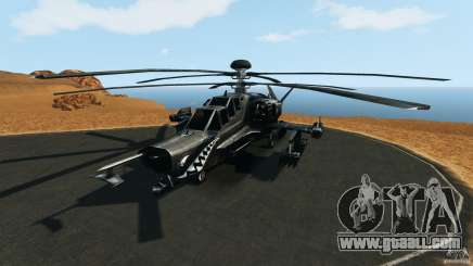 KA-50 Black Shark Modified for GTA 4