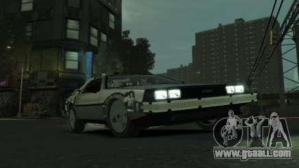 DeLorean BTTF 2 for GTA 4