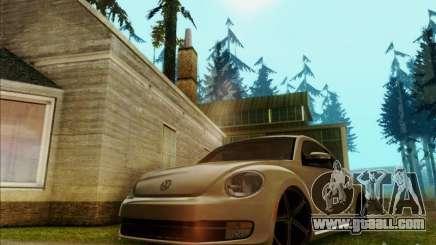Volkswagen New Bettle 2013 Edit for GTA San Andreas