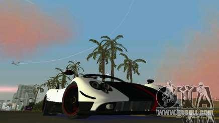 Pagani Zonda Cinque Roadster 2010 for GTA Vice City