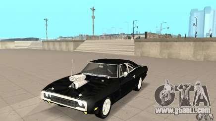 Dodge Charger RT 1970 The Fast & The Furious for GTA San Andreas