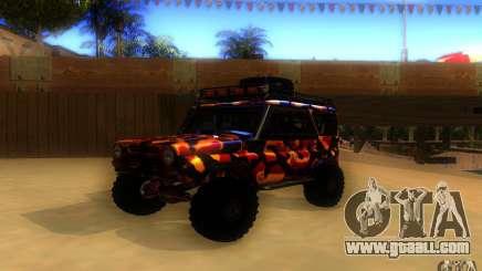 UAZ 4 x 4 for GTA San Andreas