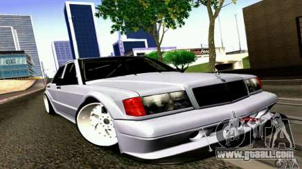 Mercedes-Benz 190E Drift for GTA San Andreas