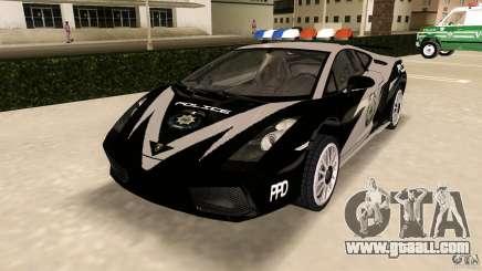 Lamborghini Gallardo Police for GTA Vice City